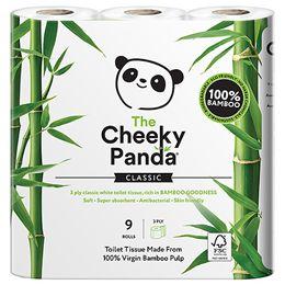 The Cheeky Panda Toilet Tissue - 9 RollsUK Supplier