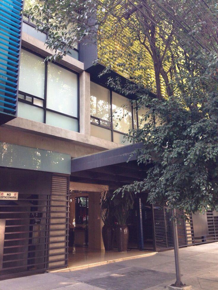 Renta departamento con terraza amueblado 1 recámara  1 baño 1 estacionamiento. Roof Garden común