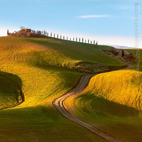Val d'Orcia, Tuscany.