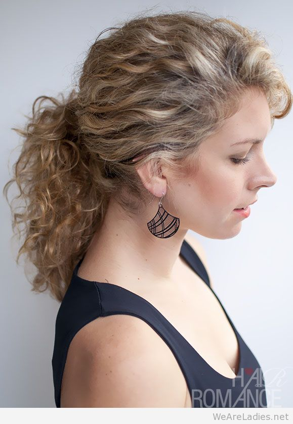 curly hair ponytail styles awesome ponytails images we are ladiesss 8005