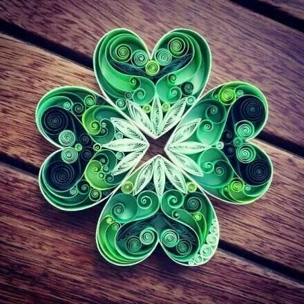 """Green heart. Or you could rotate it and put a """"stem"""" on it to make it a 4 leaf clover"""
