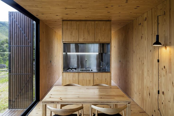 LIVING IN REMOTE LANDSCAPES  MINIMOD CATUÇABA is a primitive retreat with a contemporary reinterpretation, which more than an object aims to become an every-...