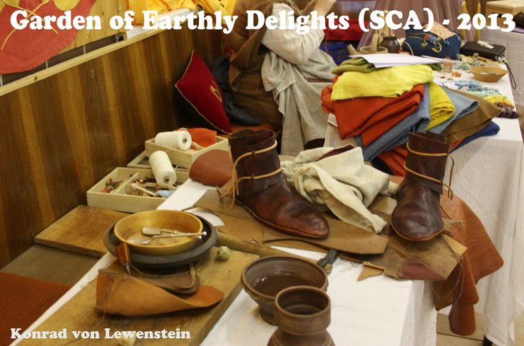 Garden of Earthly Delights a SCA event in 2013 especially for Arts and Science projects