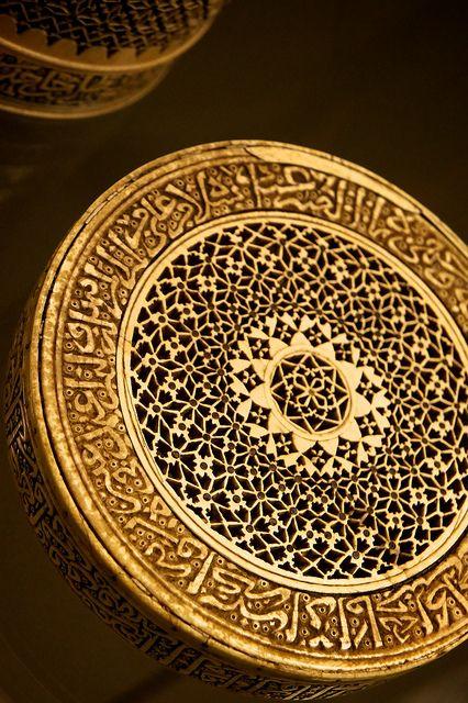 Brass tray inscribed