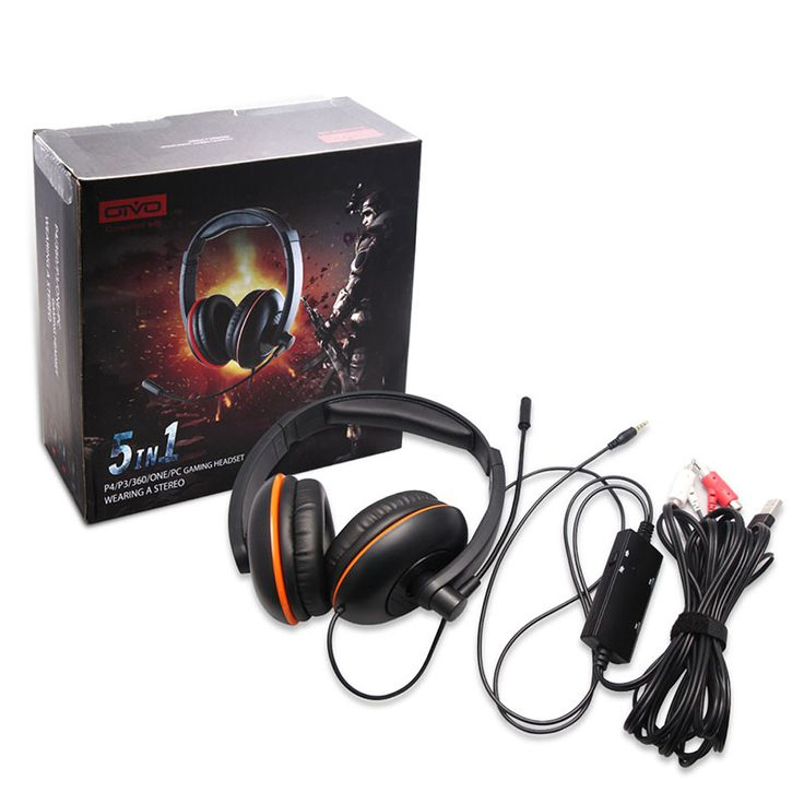 5 in 1 Wireless Cordless Headphones For XBOX 360//PS4/PS3 One Headset Earphone For PC Wireless Headphone Gaming Headphone