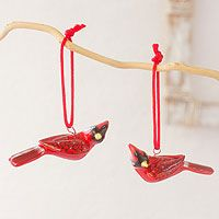 Cardinal from @NOVICA, They help #artisans succeed worldwide.