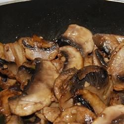 Balsamic mushrooms sauteed   – Vegan recipes