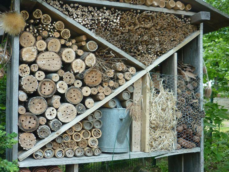 les 30 meilleures images propos de h tel insectes bugs house sur pinterest nature. Black Bedroom Furniture Sets. Home Design Ideas