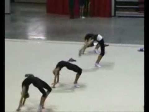 rhytmic gymnastics stretching training (2) Never again will I consider myself flexible