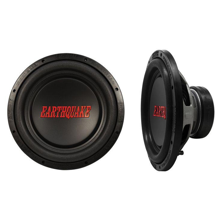 "Earthquake Sound TREMOR-X124 Tremor-X Series Single 4 Ohm 2500 Watt 12"" Car Audio Stereo Subwoofer (pair). Free Air Resonance (Fo): 29,1094Hz. Electrical ""Q"" (Qes): 0.617. Mechanincal ""Q"" (Qms): 5.794. Total Speaker ""Q"" (Qts): 0.5576. One Way Linear Excursion: 1.1"" (27.94mm)."