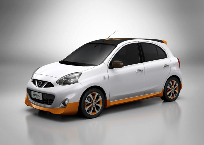 Nissan March Rio Olympics 2016 Edition