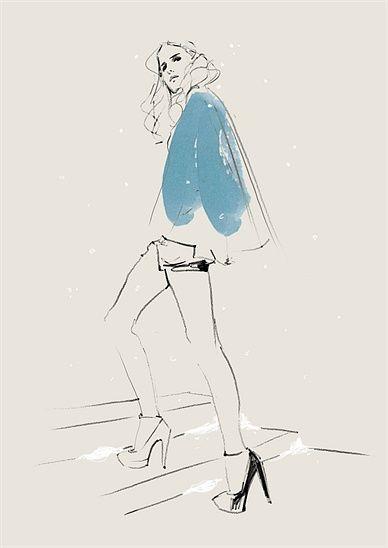 Judith van den Hoek Illustration Portfolio – Fashion illustration artist and illustrator