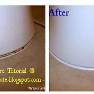 Is the caulk around your toilets old and looking nasty? A few of mine… :: Hometalk