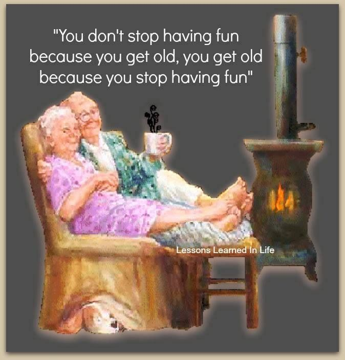 It's true...i forget all my pain and worries when I'm acting silly, and havin fun
