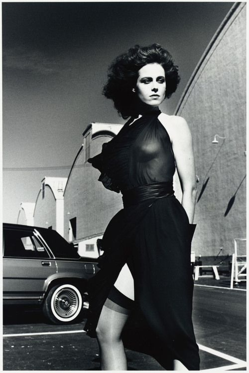 "Sigourney Weaver on the Warner Bros. Lot, Burbank, 1983 ""When I look around the world, I don't see too many damsels in distress. If they're a damsel in distress, they're manipulating some guy to help them."""