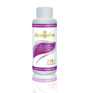 Lipogaine for Women: Minoxidil Enhanced with Biotin and Vitamin for Thinning Hair Loss / Hair Regrowth Treatment...