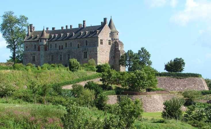 Chateau de la Roche Jagu, Cotes d'Armor, Bretagne, France