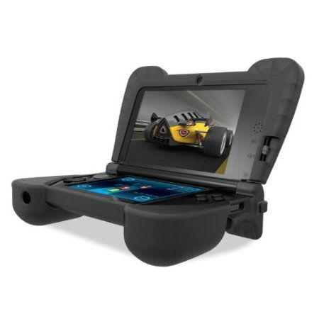 DreamGEAR Nintendo 3DS XL Comfort Grip - Black Your #1 Source for Video Games, Consoles & Accessories! Multicitygames.com
