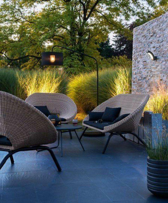 Le Salon De Jardin En Resine Tressee En 52 Photos Jardin Moderne Salon De Jardin Castorama Meuble Jardin