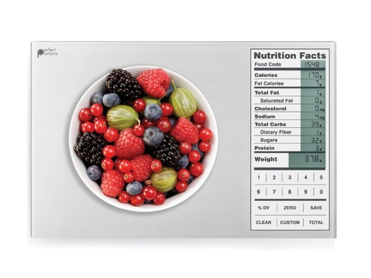 As Seen On Dr. Oz: The Perfect Portion Food U0026 Nutritional Fact Scale From