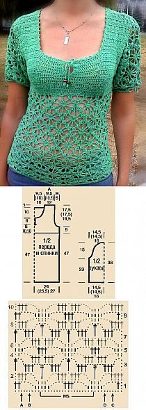 Top with diagram