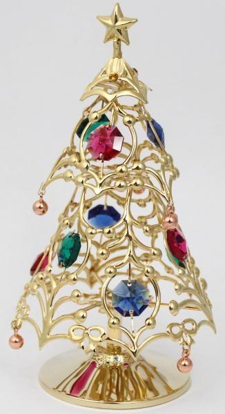 Weihnachtsbaum Christbaum Künstlicher Tannenbaum(g) MADE WITH SWAROVSKI ELEMENTS - premium-kristall