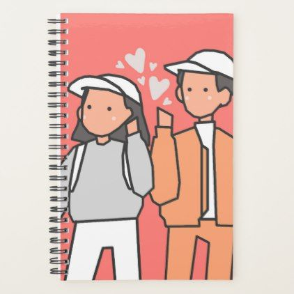 Love (Happy Valentine's Day) Planner | Zazzle.com