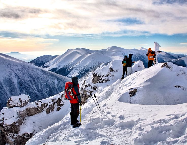 Strehous winter hike in the Small Fatra mountains, Slovakia