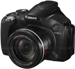 Canon Powershot SX40 vs Nikon Coolpix P500