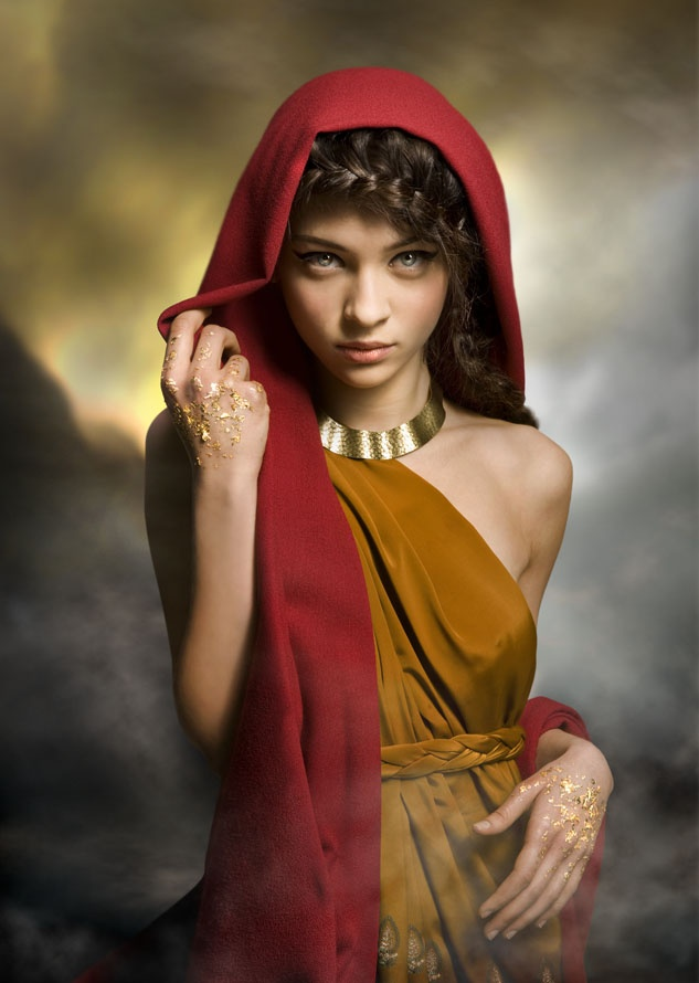 Hello. I am Pythia. The Oracle of Delphi. Every once in a while the spirit decides to show me the future, all I do is listen. I am not connected to heaven or hell. Although if I wish I am able to choose a side to help. My talents are irreplaceable and can win or lose the war. So convince me. I'm waiting.