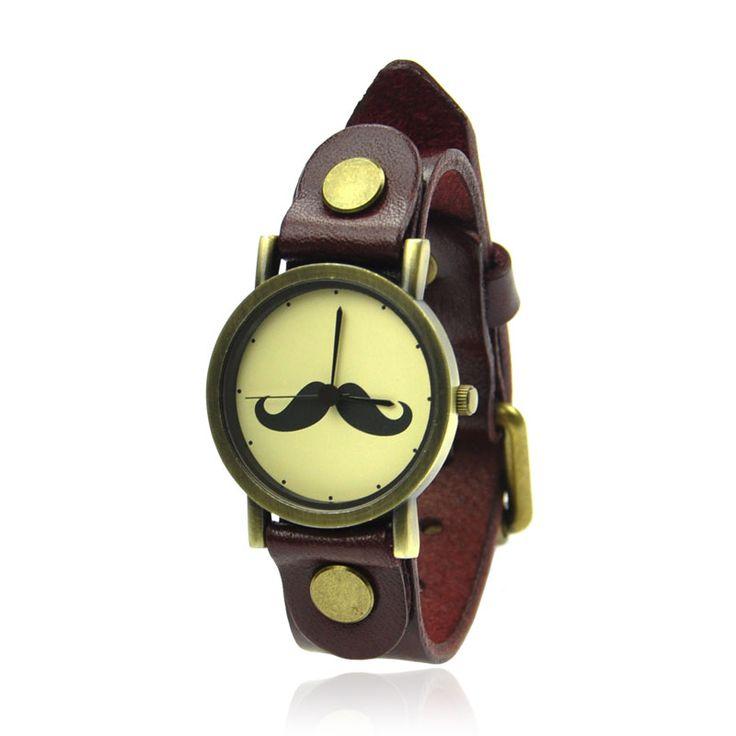 Fun Moustache Watch