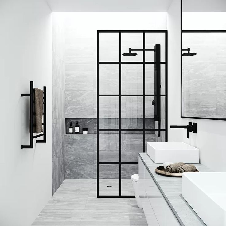 Mosaic 33 75 W X 73 75 H Framed Fixed Glass Shower Panel In 2020 Glass Shower Panels Shower Doors Framed Shower