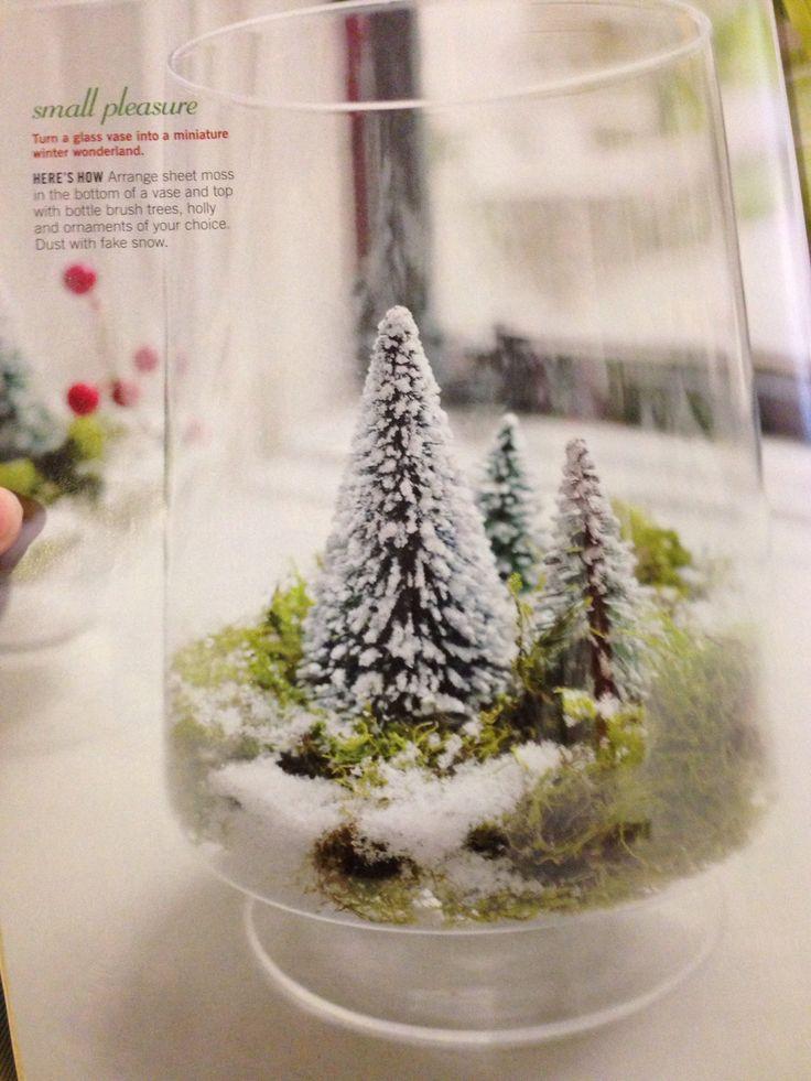 Fake Christmas Tree With Snow