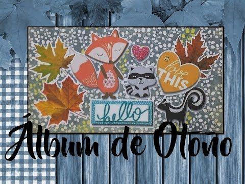 TUTORIAL ALBUM DE OTOÑO - YouTube