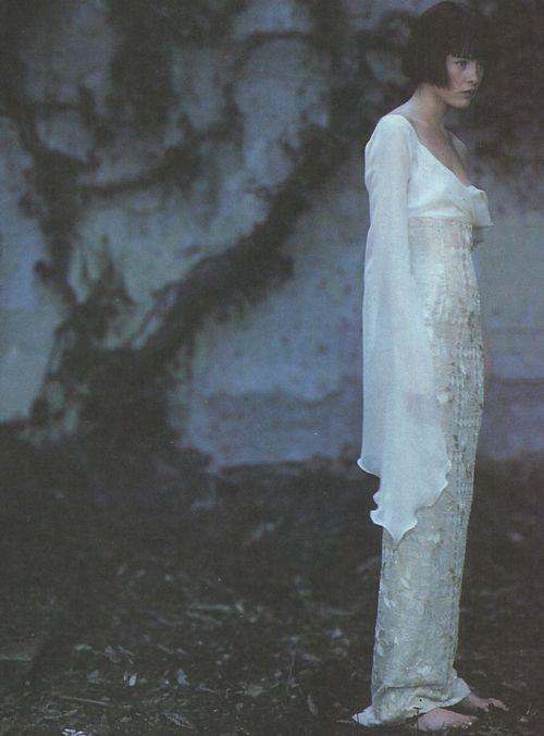 ☽ Dream Within a Dream ☾ Misty Blurred Art & Fashion Photography - Gai Mattiolo Alta Moda S/S 1998 by Cuccirelli