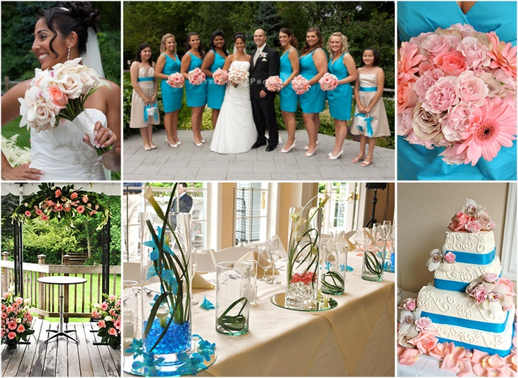 Coral And Teal Wedding Invitations: 25+ Best Ideas About Coral Teal Weddings On Pinterest