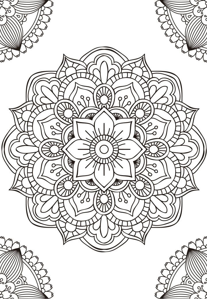 Print out to color it yourself and send me a picture of your artwork!