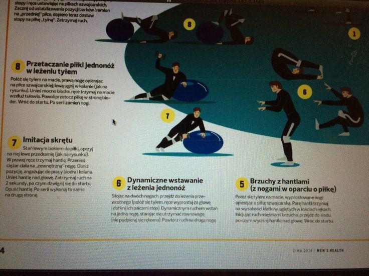 Alpine ski trening