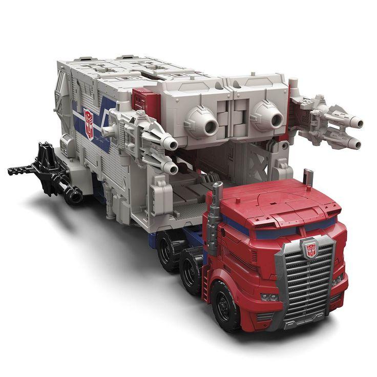 """Transformers Generations """"Titans Return"""" Powermaster Optimus Prime"""