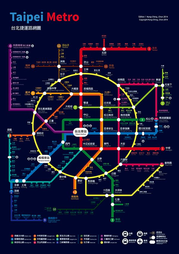 Taipei Metro on Behance