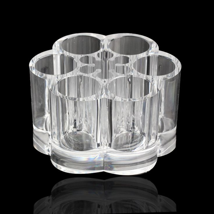 2 Style Acrylic Makeup Organizer Transparent Acrylic Brush Pot Shape Cosmetic Storage Organizer Makeup Display Rack Box #clothing,#shoes,#jewelry,#women,#men,#hats,#watches,#belts,#fashion,#style