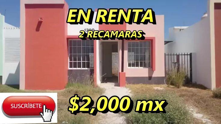 Renta de casa nueva  de 2 recamaras en la Reserva Villa de Álvarez Colima