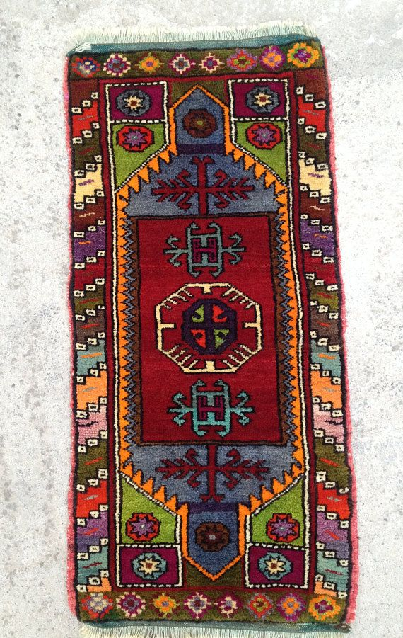 Christmas Decor Rug Turkish Rug Small Rug Door Mat Rug