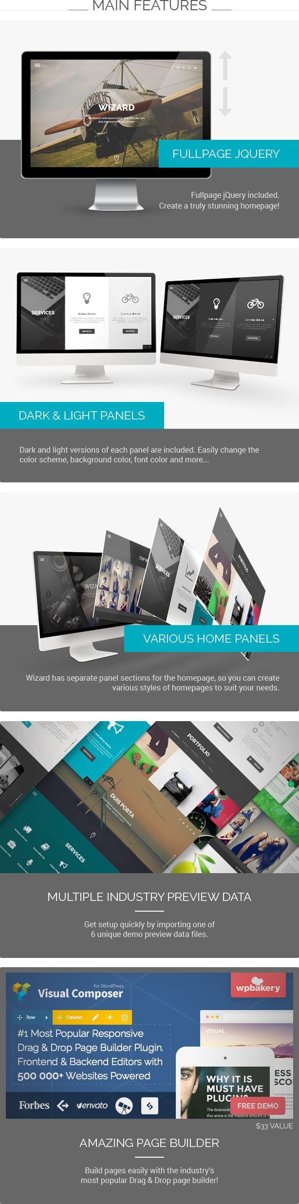 65 best WEB // WordPress Themes images on Pinterest | Wordpress ...