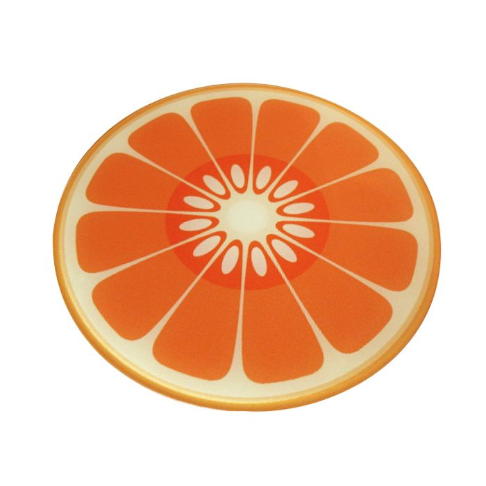 WORKTOP SAVER Glasplatte Orange Joseph Joseph