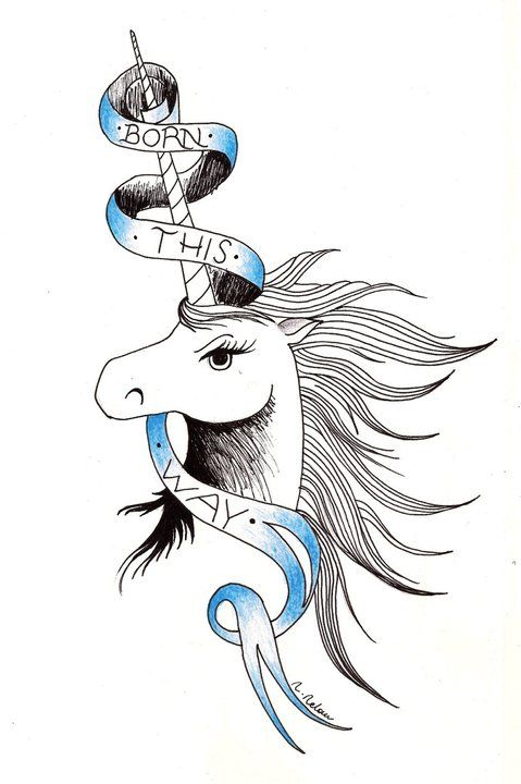 tattoo insparation (hip bone) - Lady GaGa Tattoo Born This Way by ~MarrowMelow on deviantART