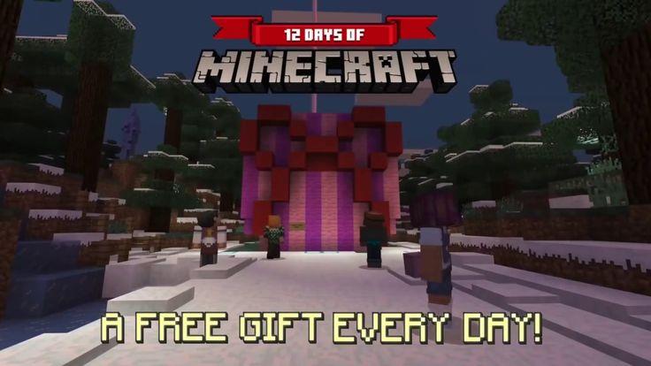 ✅MINECRAFT : 12 Days Of Minecraft Official Announcement Trailer