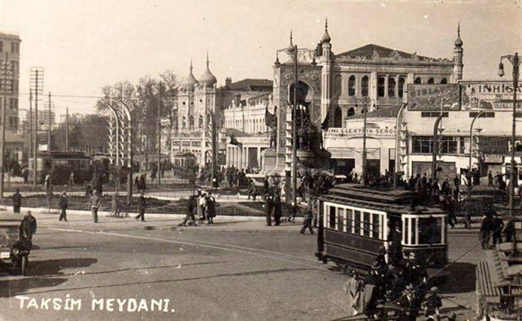 Taksim Meydanı ve Topçu Kışlası