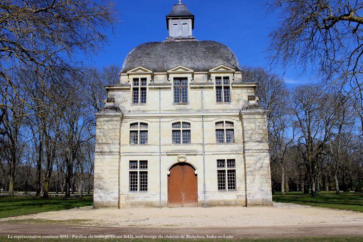 Château de Richelieu. Pavillon du manège, 2014. Photo: Afchine Davoudi.