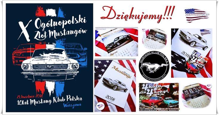 X Rally Mustang Club Poland! Warszawa 21.04.2018r.